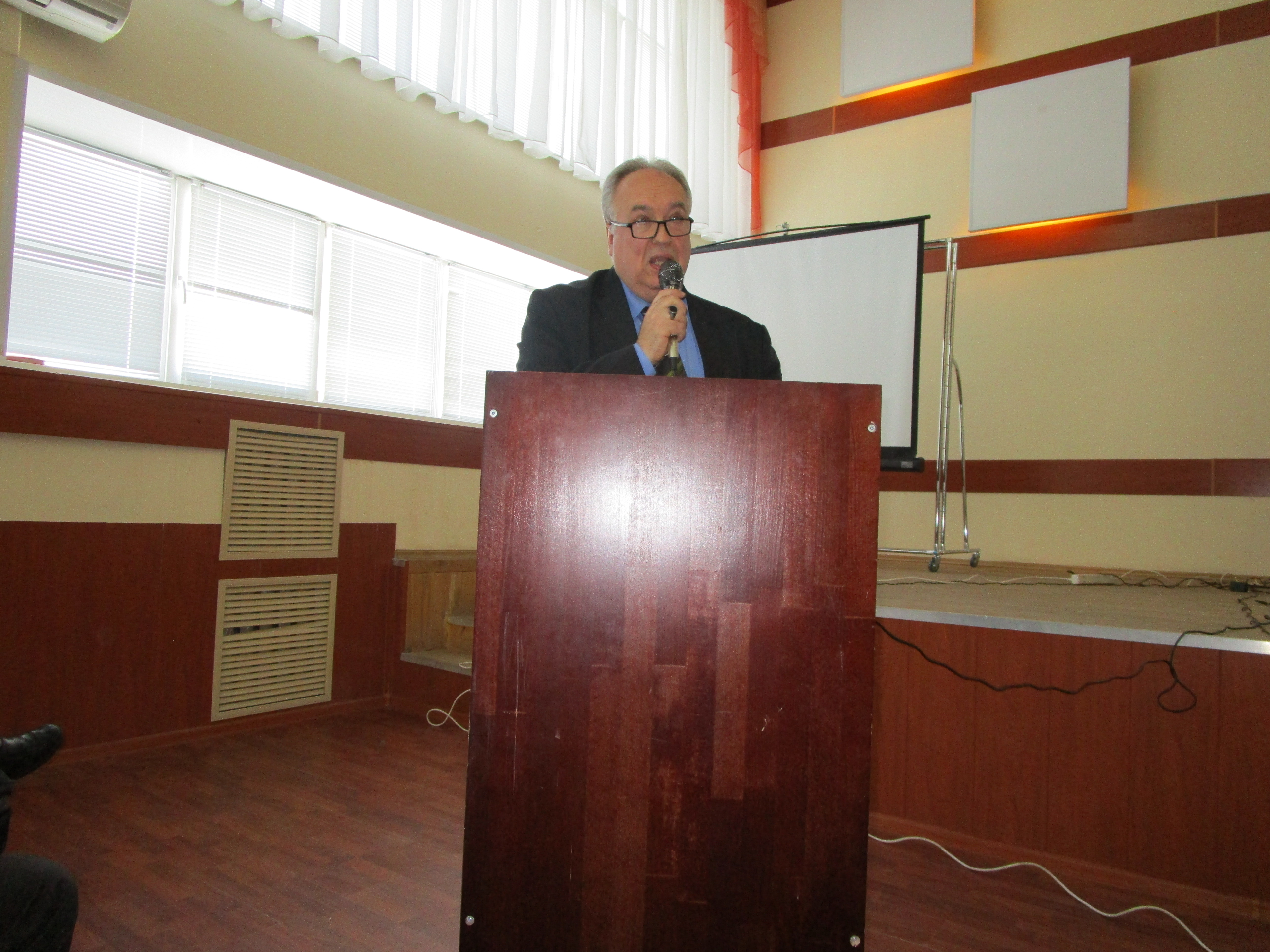 """Professor Igor Skuratov  took part in the international conference """"Dialogues of Cultures and Traditions"""""""