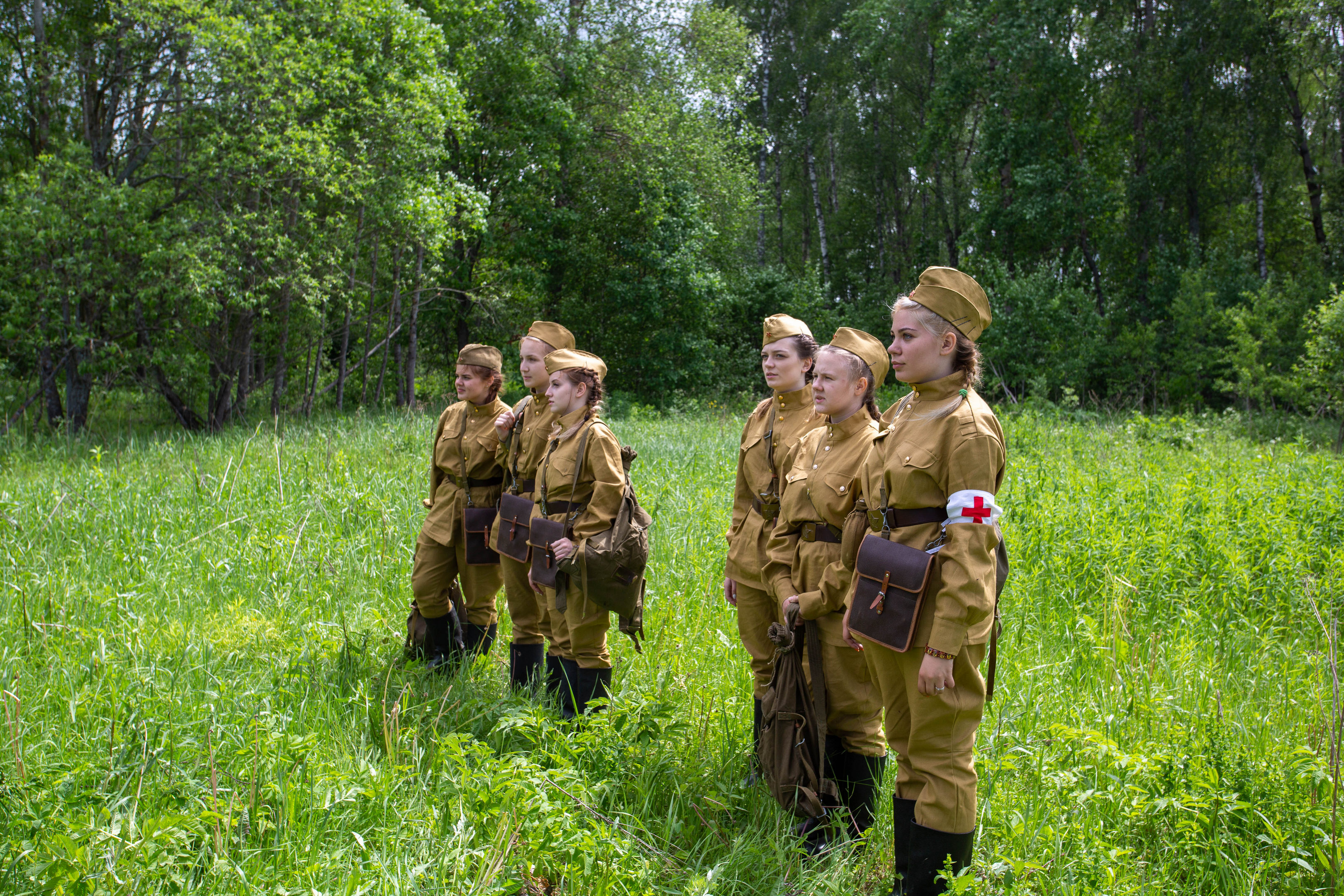 "MRSU STUDENTS TOOK PART IN THE QUEST CAMPAIGN ""ILYINSKIE DEFENSE LINES»"