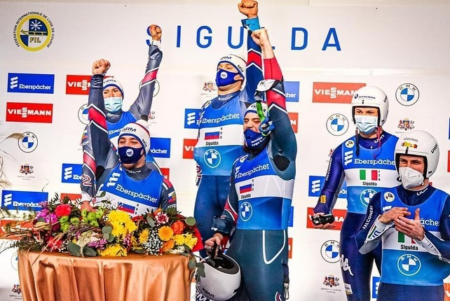 UNDERGRADUATES OF THE FACULTY OF PHYSICAL CULTURE OF OUR UNIVERSITY VICTORIA DEMCHENKO AND VSEVOLOD KASHKIN BECAME EUROPEAN CHAMPIONS IN LUGE